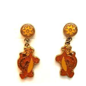 Disney Tigger post earrings